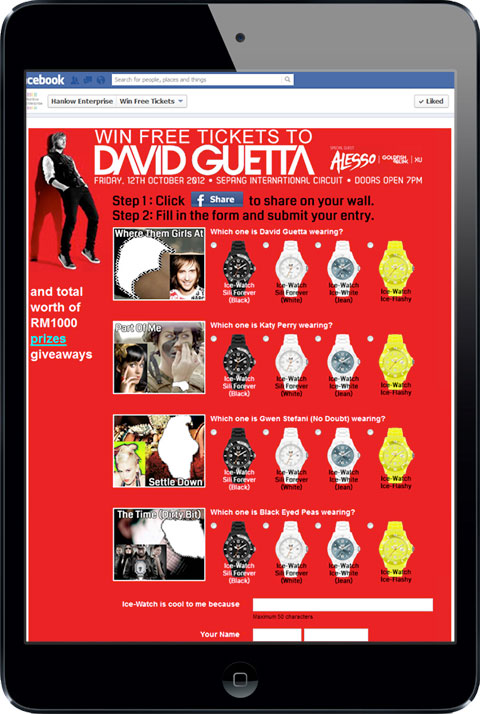 Ice-Watch - David Guetta